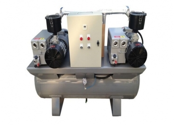 应正确地选择组合的油式真空泵
